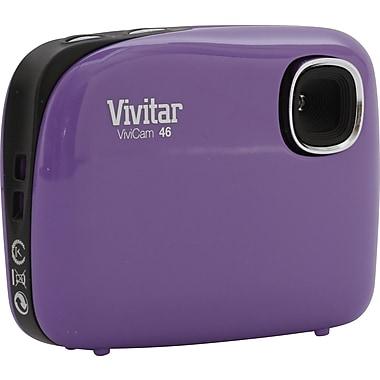 ViviCam 46 4.1 MP Digital Camera, Purple