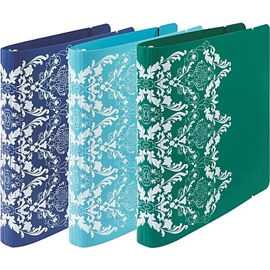 Wilson Jones® Recycled 1in. Round Ring Binder, Assorted Colors