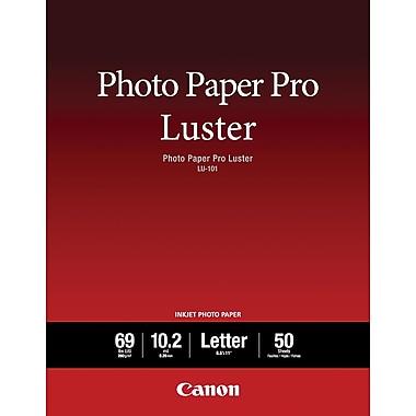 CanonMD – Papier Photo Pro Luster, 8 1/2 po x 11 po, pqt/50 feuilles