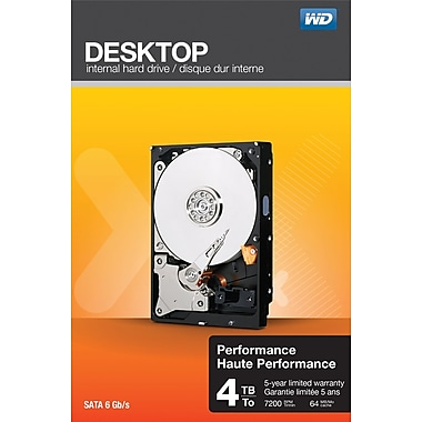WD Desktop Performance SATA 6Gb/s Internal Hard Drives
