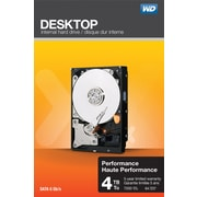WD Desktop Performance 4TB SATA 6 Gb/s Internal Hard Drives