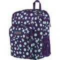 Jansport Digital Student Backpack,  Purple Night/Mint Dots