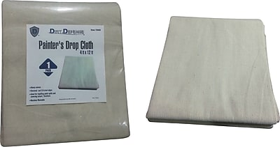 Dirt Defense Painter s drop cloth 4ft x 12ft