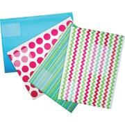 Scotch™ Decorative Plastic Bubble Mailer, #5, 10-1/2 x 15-1/4, Each
