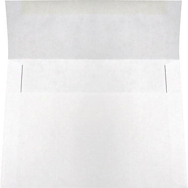 SupremeX White Invitation Envelopes, 5-1/4