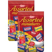 Nestlé® Assorted Chocolate Miniatures, 40 oz. 2/BD