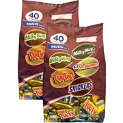 Mars® Assorted Miniatures, 40 oz. 2/Bags