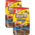 Hershey's® Miniatures Chocolate Candy Bars, 40 oz. 2/PK