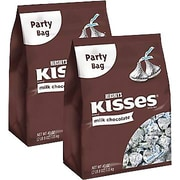 Hershey's Milk Chocolate Kisses, 40 oz. 2/PK