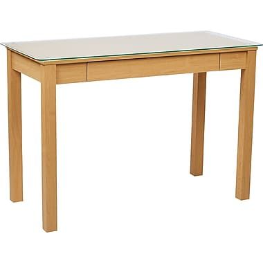 INSPIRED by Bassett Primo Parsons Desk, Maple Finish