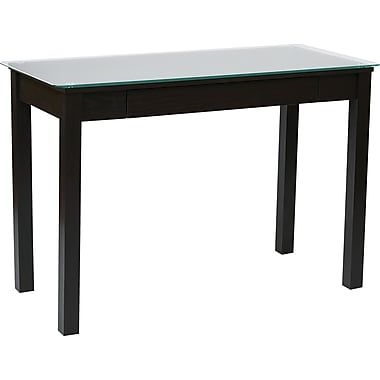 INSPIRED by Bassett Primo Parsons Desk, Espresso Finish