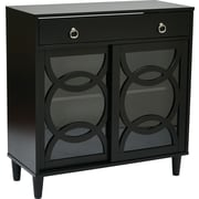 INSPIRED by Bassett Halo Hall Storage, Licorice Finish