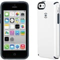 Speck CandyShell Case for iPhone 5c, White/Charcoal Gray