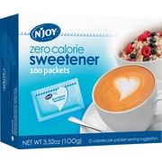 N'Joy® Blue - Aspartame Zero Calorie Sweetener Packets, 1g, 100/Bx