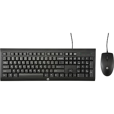 HP C2500 Desktop Wired Keyboard and Mouse Combo