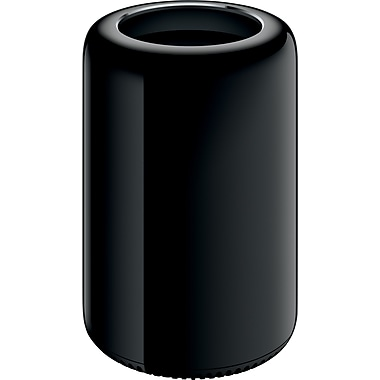 Apple Mac Pro (MD878LL/A) Desktop, 3.5GHz Six-Core Intel Xeon E5, 16GB RAM, 256GB SSD, English
