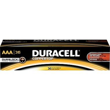 Duracell AAA Alkaline Batteries, 36/Pack