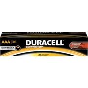 """Duracell® Alkaline """"AAA"""" Batteries, 36/Pack (MN24P36)"""