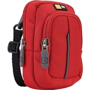 Case Logic DCB-302 Compact Digital Camera Case with Storage, Red