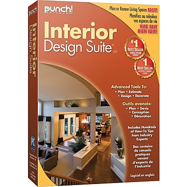 Punch! Interior Design Suite™ v17 Software, Bilingual