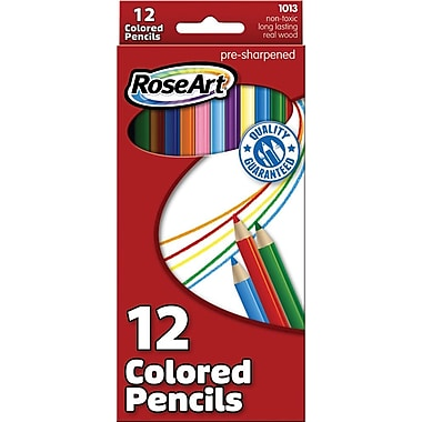 RoseArt Colored Pencils, 12/Pack