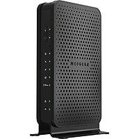 Netgear N300 Wi-Fi DOCSIS 3.0 Cable Modem Router (Black) - Certified Refurbished