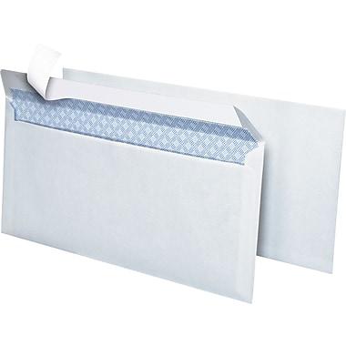 Simply QuickStrip Security-Tint Lightweight #10 Envelopes, 4-1/8