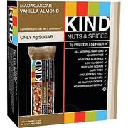 KIND® Madagascar Vanilla Almond Bar, 1.4 oz., 12 Bars/Bx