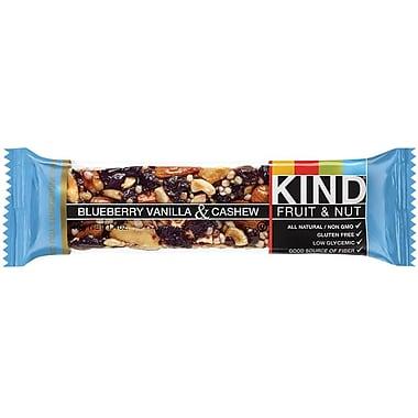 KIND Blueberry Vanilla & Cashew Bar, 1.4 oz., 12 Bars/Bx