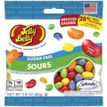 Jelly Belly Sugar Free Sours 2.8 oz. Peg  Bag, 12 Bags/Box