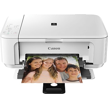 Canon PIXMA MG3520 Wireless All-in-One Inkjet Printer, White