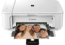 Canon PIXMA MG3520 Wireless All-in-One Printer, White