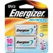 Energizer Advanced Lithium 9V, 2/Pack