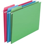 Smead® Erasable FasTab® Hanging File Folder, 1/3-Cut Built-In Tab, Letter Size