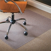 Natural Origins Chair Mat For Carpet, 36 x 48, Clear