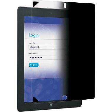3M Easy-On Privacy Filter for Apple® iPad® 2 & iPad 3rd/4th Generation, Portrait