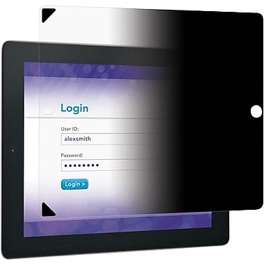 3M Easy-On Privacy Filter for Apple® iPad® 2 & iPad 3rd/4th Generation, Landscape