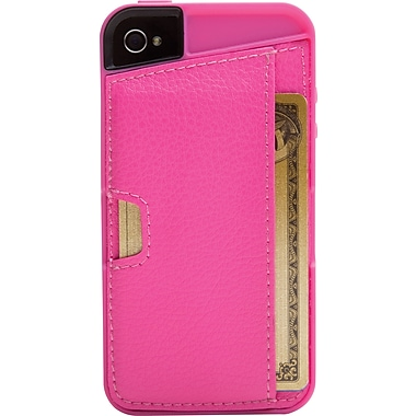 CM4 Q CARD CASE FOR IPHONE 4/4S, Pink