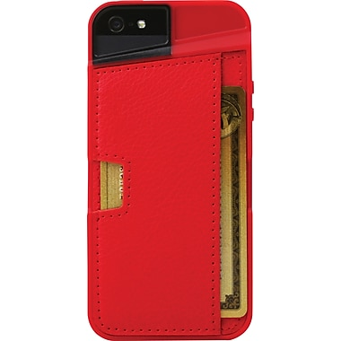 CM4 Q CARD CASE FOR IPHONE 5, Red