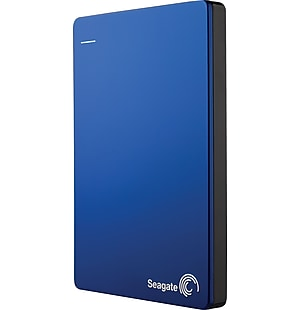 Seagate Backup Plus Slim 2TB Portable Hard Drives with Mobile Device Backup