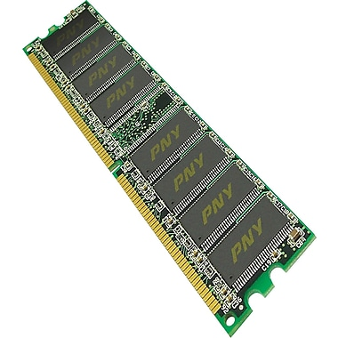 PNY DDR DIMM 2GB (2 x 1GB) 400 (PC-3200) Dual Channel Memory Kit