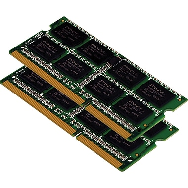 PNY DDR3 SODIMM 16GB (2 x 8GB) 1600 (PC3-12800) CAS 11 Dual Channel Memory Kit