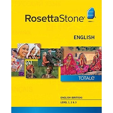 Rosetta Stone English (British) Level 1-3 Set for Windows (1-2 Users) [Download]