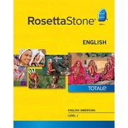 Rosetta Stone English (American) Level 1 for Mac (1-2 Users) [Download]