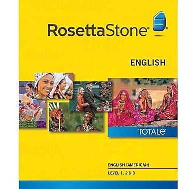 Rosetta Stone – Anglais (américain), niveaux 1 à 3 pour Mac (1 à 2 utilisateurs) [Téléchargement]