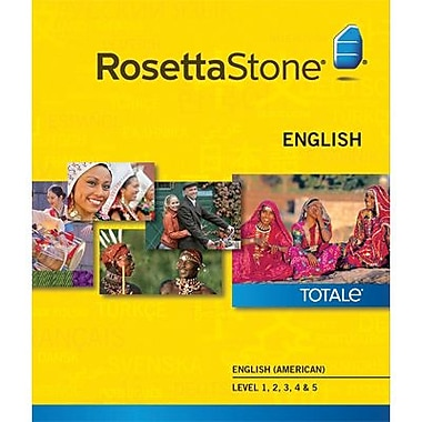 Rosetta Stone English (American) Level 1-5 Set for Mac (1-2 Users) [Download]