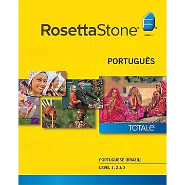 Rosetta Stone Portuguese Brazil Level 1-3 Set for Mac (1-2 Users) [Download]