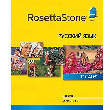 Rosetta Stone Russian Level 1-3 Set for Mac (1-2 Users) [Download]