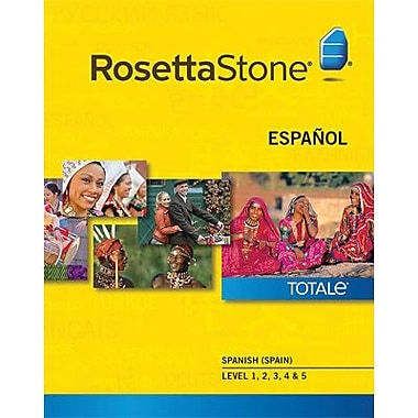 Rosetta Stone Spanish Spain Level 1-5 Set for Mac (1-2 Users) [Download]