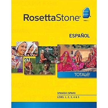 Rosetta Stone – Espagnol d'Espagne, niveaux 1 à 5 pour Mac (1 à 2 utilisateurs) [Téléchargement]